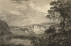 A View of Bethlem the Great Moravian Settlement in the Province of Pennsylvania